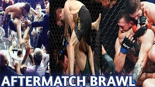 Conor McGregor vs Khabib Post Fight Brawl | UFC | Demimask
