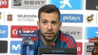 Jordi Alba says Messi doesn