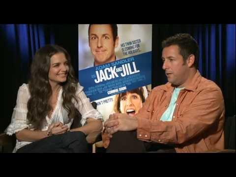 Adam Sandler and Katie Holmes talk Jack & Jill