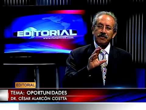EDITORIALES MIÉRCOLES  20 AGOSTO 2014 TEMA: OPORTUNIDADES
