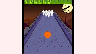 How to play Halloween Bowling game | Free online games | MantiGames.com