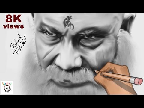bahubali 2 | kattappa Speed Drawing