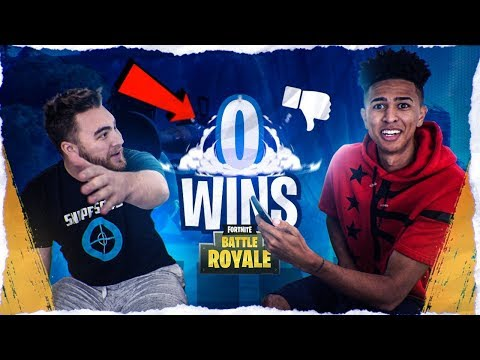 Roasting LosPollosTV Fortnite STATS! CARRYING LOS TO VICTORY CHALLENGE! Fortnite Battle Royale thumbnail