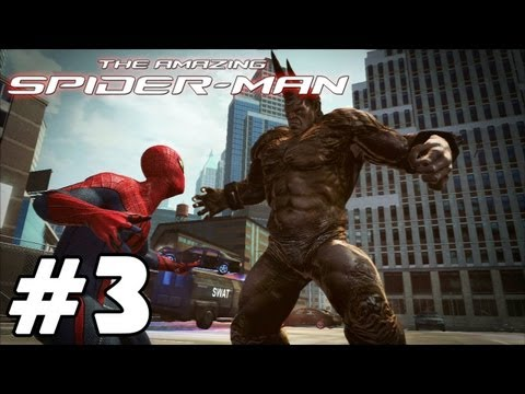 The Amazing Spider-Man - 'Playthrough Part 3 [Rhino Battle]' TRUE-HD QUALITY