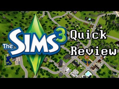 LGR - The Sims 3 Quick Review - Top 5 Reasons To Buy