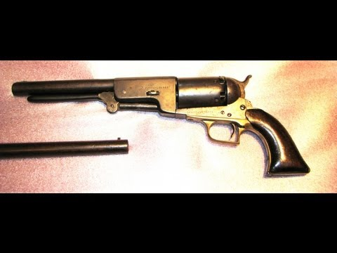 World's Most Powerful Handgun-The Walker Colt .44 Revolver