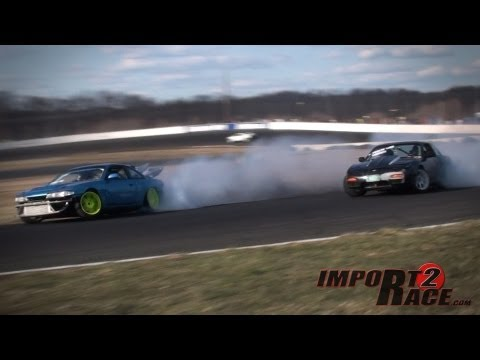 Collided 240sx Drifting at ClubLoose