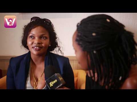 Interview ya Wema Sepetu baada ya kufika Hotel Rwanda