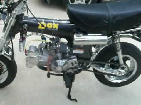 Honda CT70 Dax 124cc DOHC Takegawa G-Craft Daytona