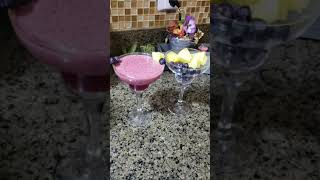 Weight loss  healthy smoothie Beautiful  growing skin blueberries  pineapple  pomegranate