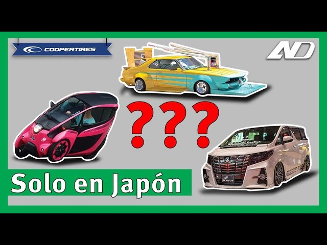 5 cosas raras de los autos en JapГn  - Cooper consejos en AutoDinГmico