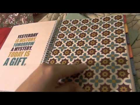 Erin Condren Life Planner Review/ Unboxing 2012-2013