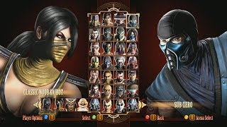 Mortal Kombat Komplete  She Scorpion - Fatalities