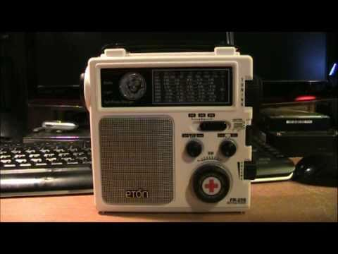 Eton FR 250 emergency radio revew
