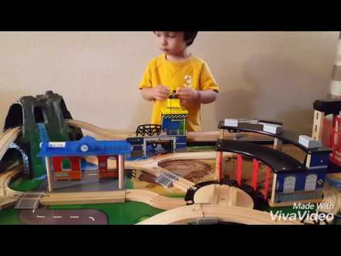 Imaginarium Mountain Rock Train Table Review