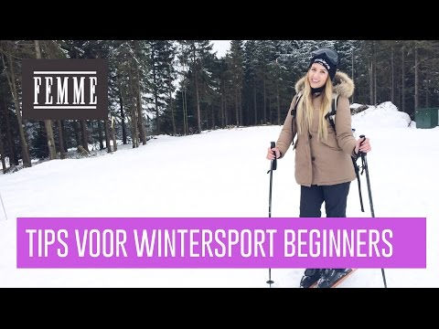 Tips voor wintersport beginners - FEMME
