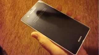 SONY DoCoMo Xperia Z SO-02E review by japanese-phones.com.ua