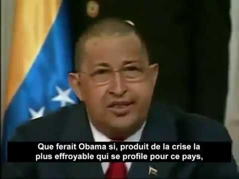 HUGO CHAVEZ lit la lettre envoyée par Kadhafi pendant l'agression de la Libye par l'OTAN - Vostfr