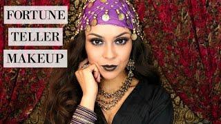 Easy Last Minute Halloween Look | Fortune Teller Makeup - TrinaDuhra