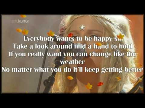 Katzenjammer  - - Rock Paper Scissors - - Lyrics -- live