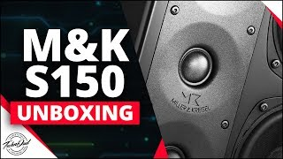 What Does An $11K Speaker System Look Like? M&K S150 5.1 THX Unboxing S150T X10 Subwoofer