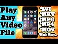 Play Any Video File Format On iPhone iPad and iPod Touch Without Jailbreak MP3