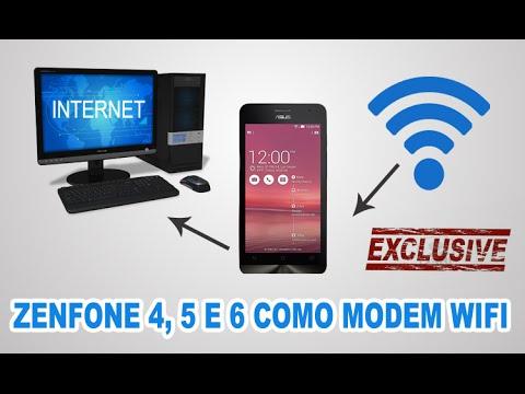 Como usar seu Zenfone Para Acessar Internet no Seu Computador
