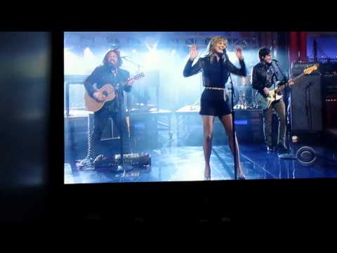 Jennifer Nettles.that Girl..david Letterman video