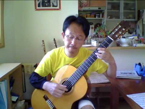 Because (classical solo guitar cover)