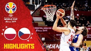 Poland v Czech Republic - Highlights - FIBA Basketball World Cup 2019