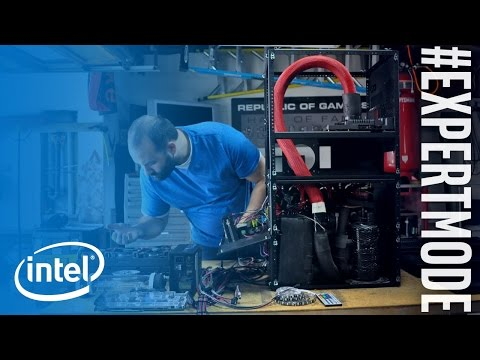 The Refrigerator Rig | #ExpertMode Ep. 1 | Intel