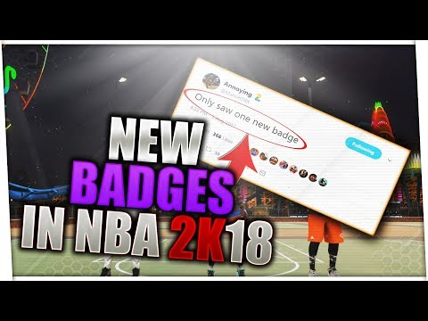THERE IS A NEW BADGE COMING TO NBA 2K18!! HOF BADGES ARE MAKING A RETURN TO NBA 2K18!