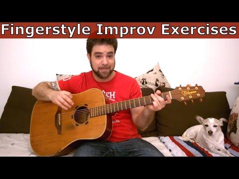 7 Fingerstyle Improvisation Exercises & Tips - Guitar Lesson Tutorial