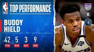 Buddy Hield Records Career-High In Minnesota