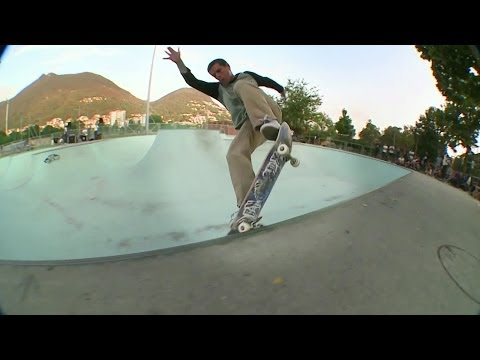 Street skateboarding and suicidal drop-ins