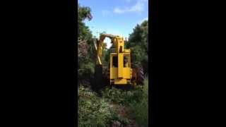 TrimCut mechanical Orchard pruning , AFRON TH1000
