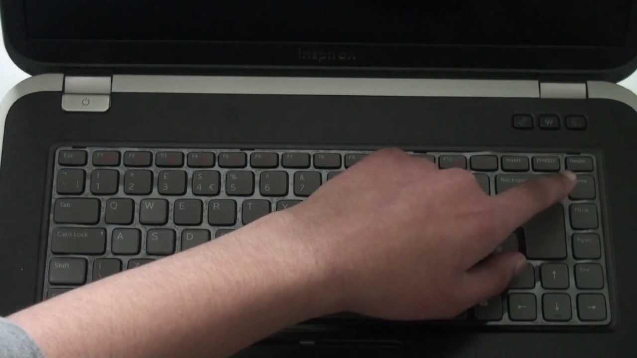 Dell 7720 Keyboard Keyboard on Dell Inspiron