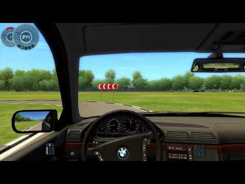 #013 Let's Play City Car Driving - BMW 750i E38 1998 [Deutsch] [Full-HD] MOD