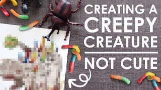 Designing A CREEPY Creature?! - w/ Katelyn McCaigue