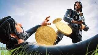 FIRST TIME playing Wick's Bounty - NEW John Wick Event in Fortnite