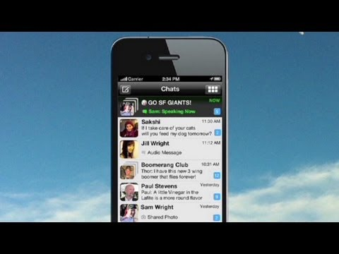App turns phone into walkie talkie