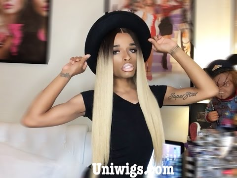 Uniwigs Ciara Inspired Glueless Full Lace Wig Review #AVADIM