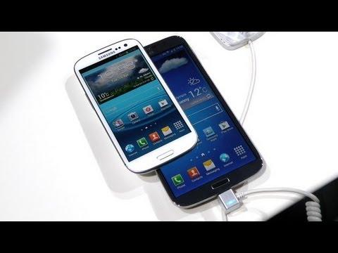 نظرة اولى على Samsung Galaxy Mega جالكسي ميجا العملاق