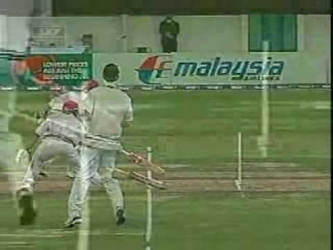The Top Ten Weird Dismissals Of Cricket!!