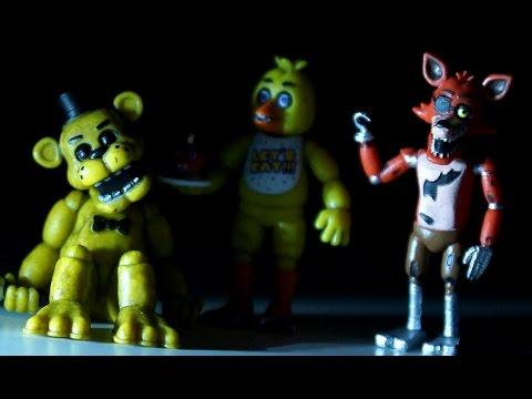 5 Ночей с Фредди - Five Nights at Freddy's - Игрушки из Игры Пять Ночей с ФРЕДДИ !!! ФНАФ