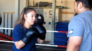 UCA Super Welterweight April Martinez, CDCR, CHCF prepares for the Battle of the Badges