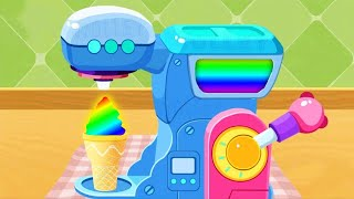 Fun Baby Ice Cream Kids Games - Learn Colors & Play Baby Panda Ice Cream & Smoothies