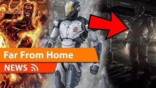 Spider-Man Far From Home New Leaks & New Addition