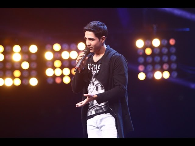 "John Legend – ""All of me"". Vezi interpretarea lui Dumitru Charbel, la X Factor!"
