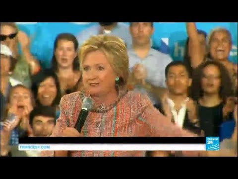 Race to the White House: Hillary Clinton's poll numbers decrease